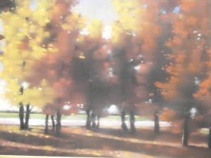 Pastel - copaci tomnatici