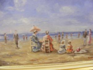 Pastel - La plaja
